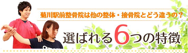 菊川駅前整骨院は他の整体。接骨院とどう違うの?